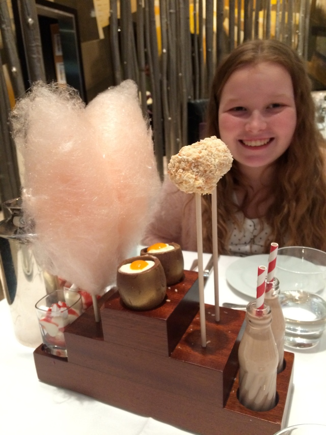 Charlie and the Chocolate Factory afternoon tea, One Aldwych, London