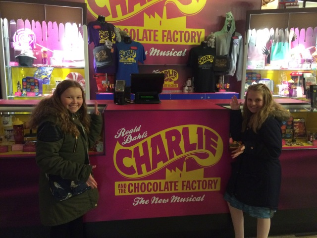 Charlie and the Chocolate Factory afternoon tea, Drury Lane Theatre, One Aldwych, London