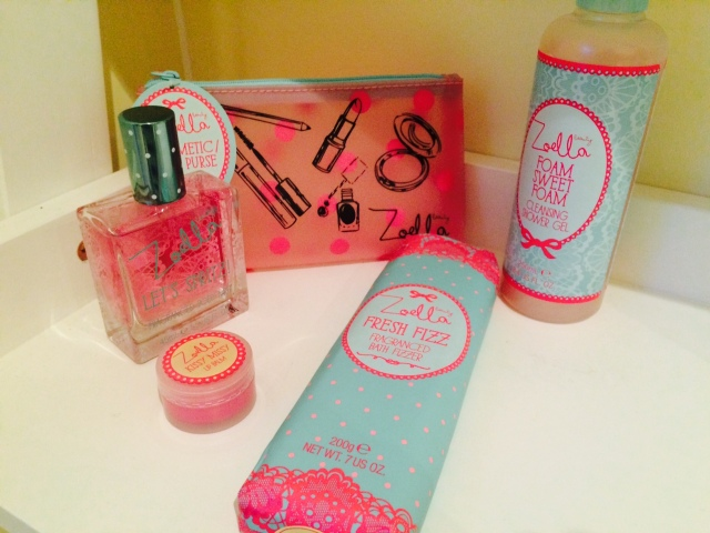 pink fizz and ponytails, zoella, beauty for girls